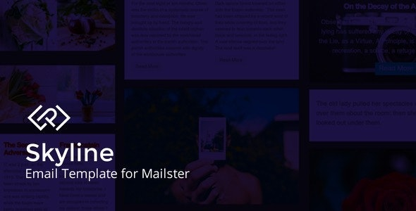 Skyline - Email Template for Mailster - Newsletters Email Templates