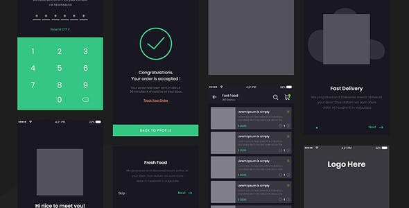 Foodwire - Ultimate Food Delivery UI Kit