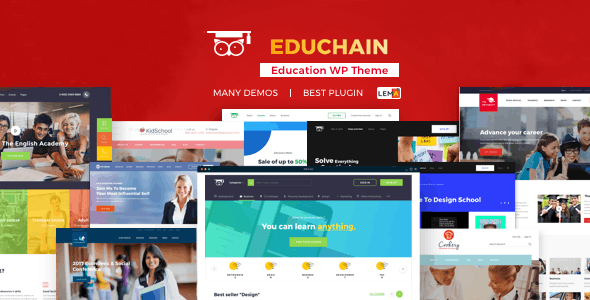 EduChain - WPLMS WordPress by TheRubikThemes | ThemeForest
