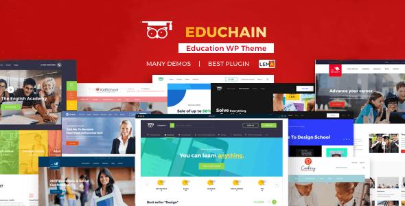 EduChain - WPLMS WordPress