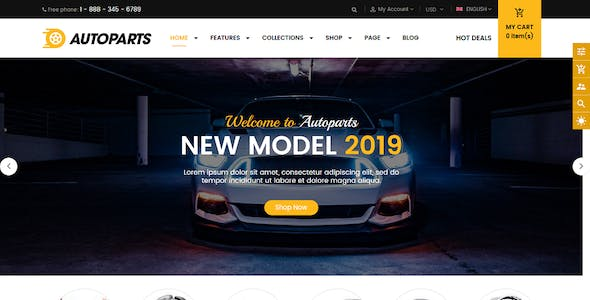Car Shopify Themes From Themeforest