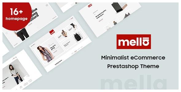 Mella - Minimalist Prestashop Theme - Fashion PrestaShop