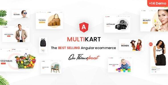 Multikart - Responsive Angular eCommerce Template - Retail Site Templates