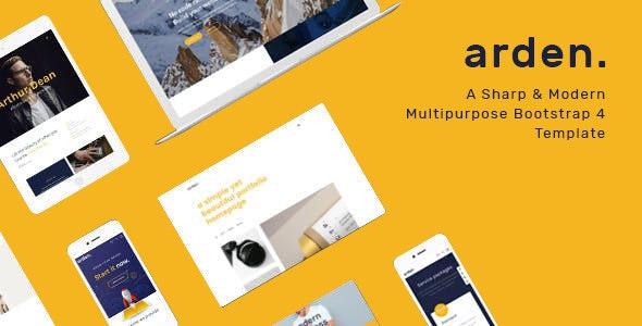 Arden - Multipurpose HTML Template - Portfolio Creative