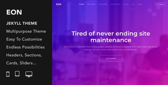 Eon | Multi-Purpose Responsive Jekyll Theme nulled theme download