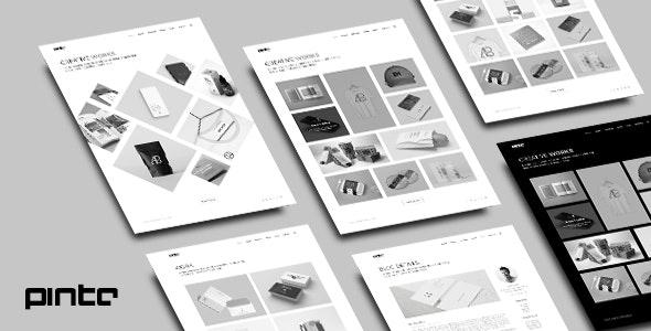 Pinto - Minimal Portfolio HTML 5 Template - Portfolio Creative
