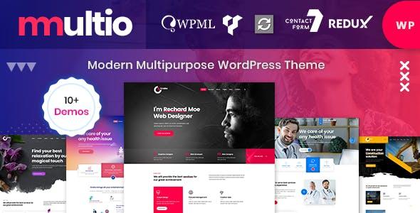 Multio - Multi-Purpose WordPress Theme with Page Builder