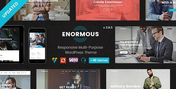 Enormous - Responsive Multi-Purpose WordPress Theme - Business Corporate