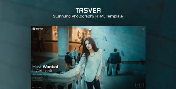Tasver Photography, Magazine Template - Creative Site Templates