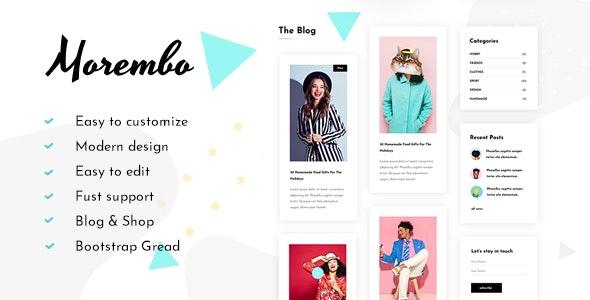 Morembo - Fashion Template - Fashion Retail