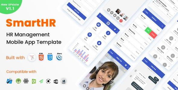 Framework 7 HTML Mobile Website Templates from ThemeForest