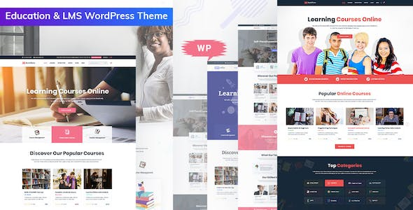 Download Bookflare - A Modern Education & LMS WordPress Theme