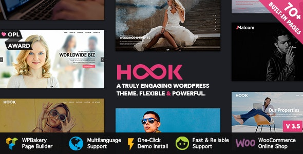 Hook - Superior WordPress Theme by Pirenko | ThemeForest