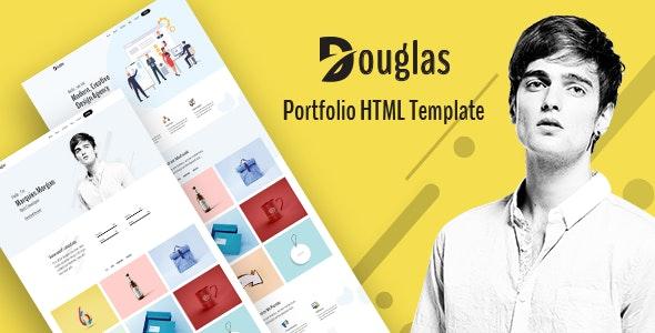 Douglas - Portfolio HTML Template - Portfolio Creative