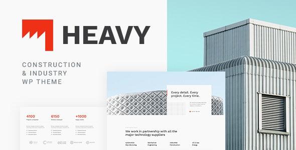 Heavy - Industrial WordPress Theme - Business Corporate