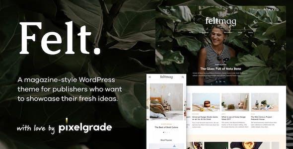 Felt teknoloji haber wordpress teması