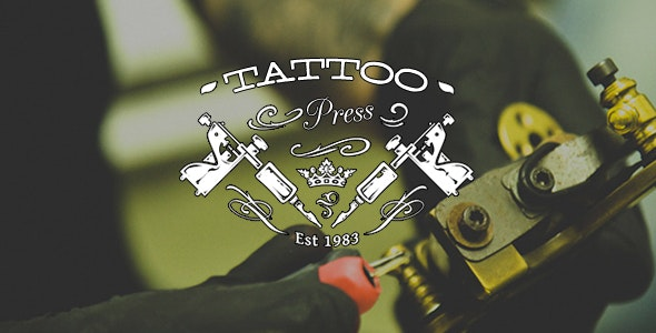 TattooPress - A Wordpress Theme for Ink Artists - Art Creative