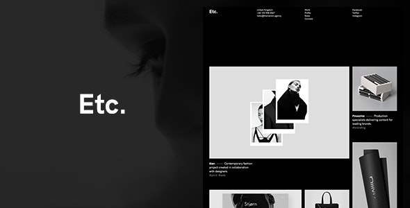 Etc. - Portfolio Creative WordPress Theme - Portfolio Creative