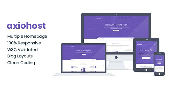 Download Axiohost -  Corporate and Business Jekyll Template