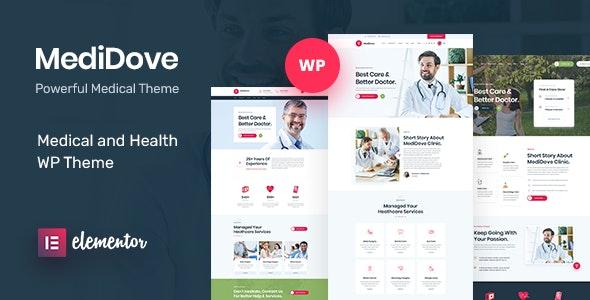 MediDove | Health and Medical WordPress Theme + RTL - Health & Beauty Retail