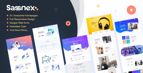 Sassnex - Multi-concept WordPress Theme for App, Saas & Startup - Software Technology