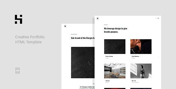 Horet - Creative Portfolio Template - Creative Site Templates