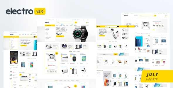 Electro 5 0 - Gadgets & Digital Responsive Shopify Theme by