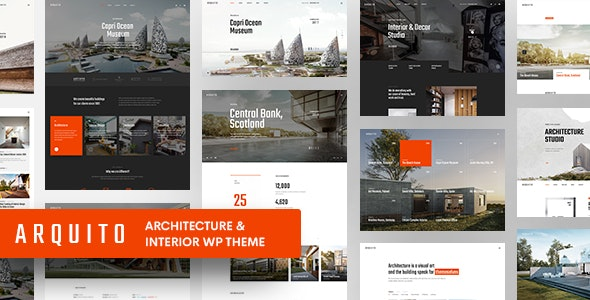 Arquito - 3D Architecture & Interior WordPress Theme - Business Corporate