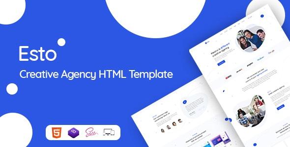 Esto - Creative Agency HTML Template - Business Corporate