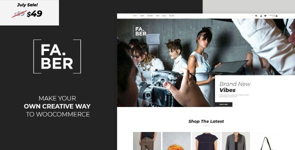 Faber -  Fashion & Clothing Shop for Woocommerce - WooCommerce eCommerce