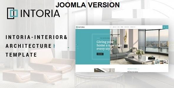 Intoria - Interior & Architecture Joomla Template - Business Corporate
