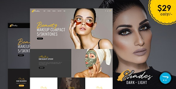 Shades - Bridal Studio - Opencart Responsive Theme - Health & Beauty OpenCart