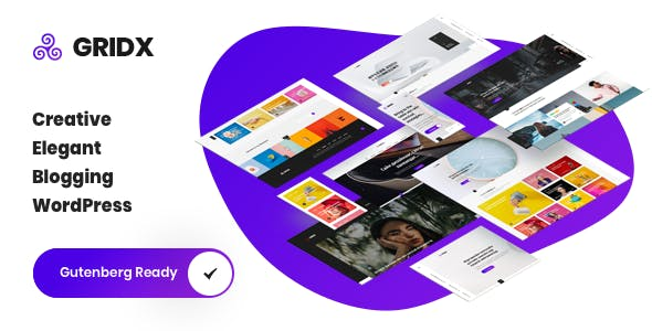 Gridx - Creative Blog WordPress Theme
