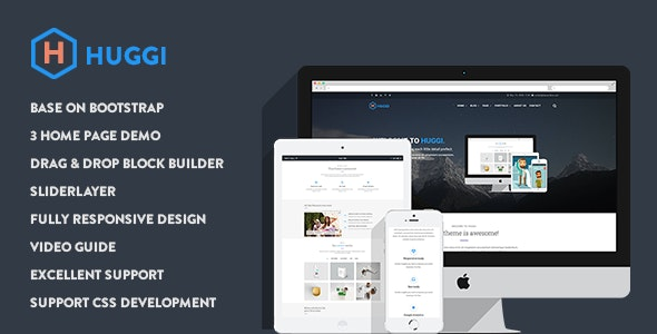 Huggi - Responsive Business Drupal 8.7 Theme - Business Corporate