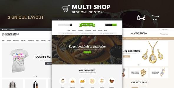 Multi Shop - OpenCart 2 & 3 Responsive Theme - Fashion OpenCart