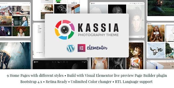 Kassia - Photography WordPress Theme - Photography Creative