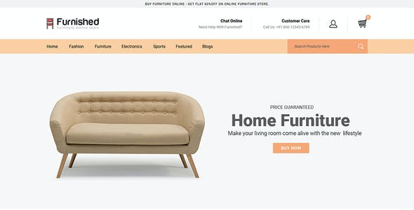 Furnished - OpenCart 2 & 3 Responsive Theme