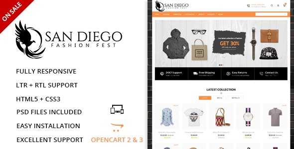 Fashion Fest - OpenCart Responsive Theme - Miscellaneous OpenCart