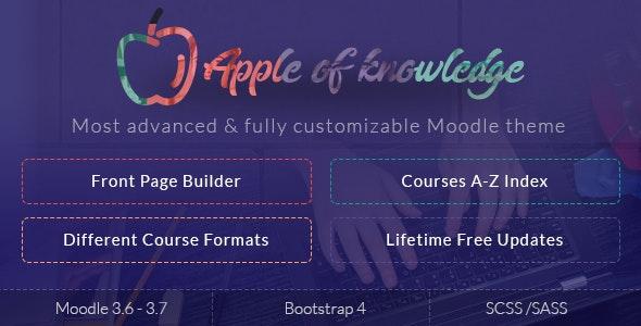 Apple of Knowledge | Premium Moodle Theme - Moodle CMS Themes