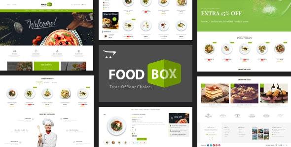 Food Box - Multipurpose Opencart 3.x Responsive Theme - OpenCart eCommerce