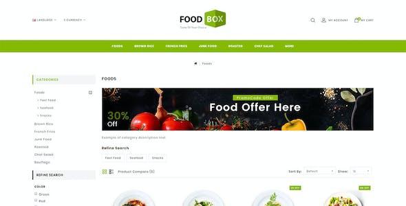 Food Box - Multipurpose Opencart 3.x Responsive Theme