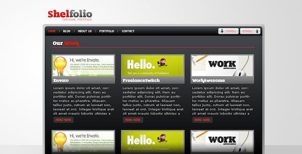 Shelfolio | HTML + CSS + jQuery