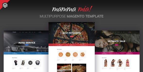 Mamma Mia - Multipurpose Magento Theme nulled theme download