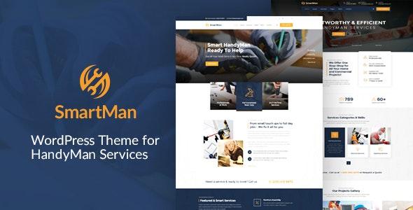 Smartman - WordPress Theme For Handyman Service - Business Corporate