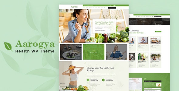 Aarogya | Dietitian, Nutrition WordPress Theme - Health & Beauty Retail