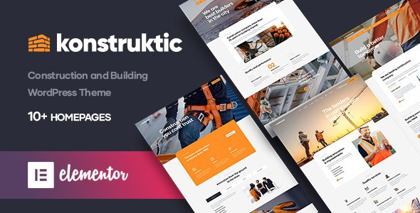 Konstruktic - Construction & Building WordPress Theme - Business Corporate