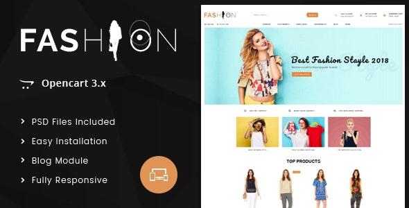 Fashion - OpenCart 3.x Responsive Theme - Fashion OpenCart