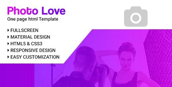 Photolovey - Corporate and Business Jekyll Template - Jekyll Static Site Generators