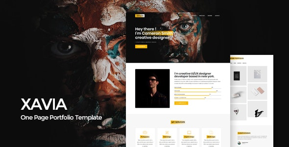 Xavia || Portfolio HTML Template - Portfolio Creative