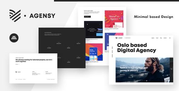 Agensy | Digital Lab & Creative Solutions Theme - Portfolio Creative